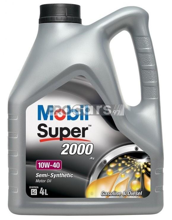 Ulei motor Mobil Super 2000 X1 10W40 4L