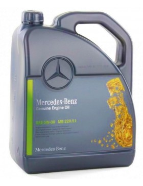 Ulei motor Mercedes Original MB 229.51 5W30 5L