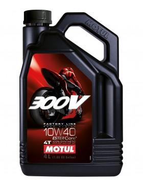 Ulei moto Motul 300V Factory Line 4T 10W40 4L