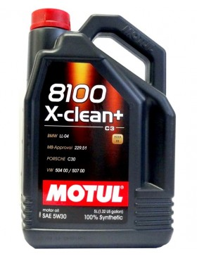 Ulei motor Motul 8100 X-Clean+ 5W30 5L