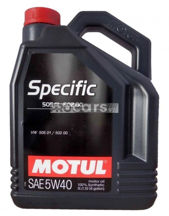 Ulei motor Motul specific 505 01-502 00, 5W40, 5L