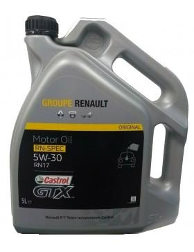 Ulei motor Renault - Castrol GTX RN17 5W30 5L