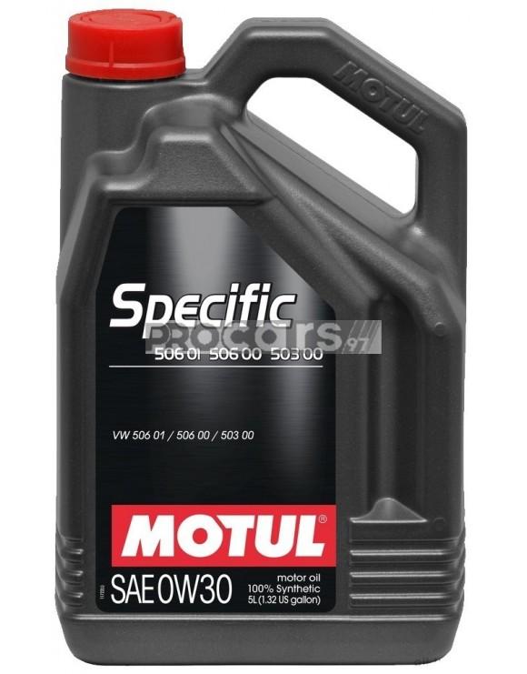 Ulei motor Motul Specific 506.00-506.01-503.00 0W30 5L