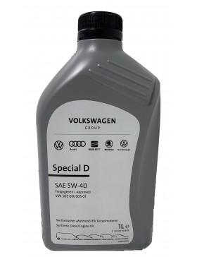 Ulei motor VW  Special D (505.01) 5W40 1L (new 2020!)
