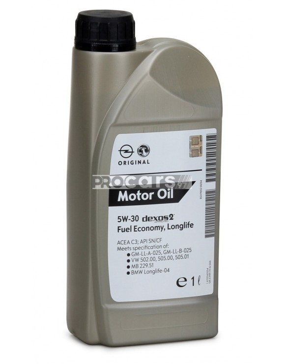 Ulei motor Gm Dexos 2, 5W30, 1L