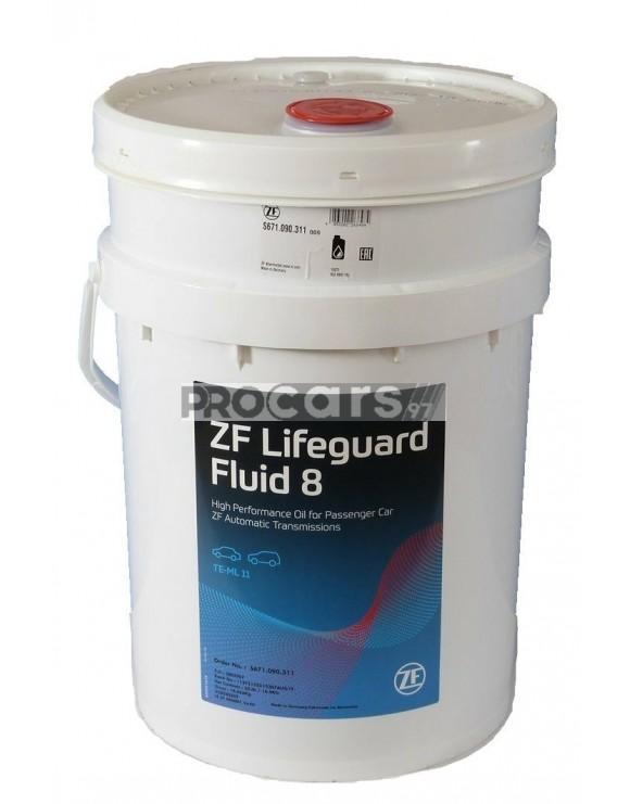 Ulei transmisie automata ZF Lifeguard Fluid 8 20L
