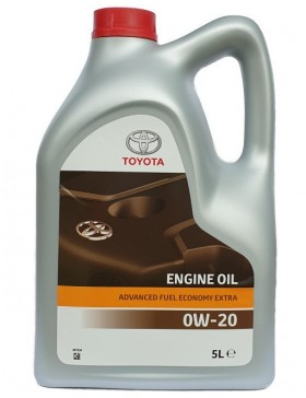 Ulei motor TOYOTA Advanced Fuel Economy 0W20 5L