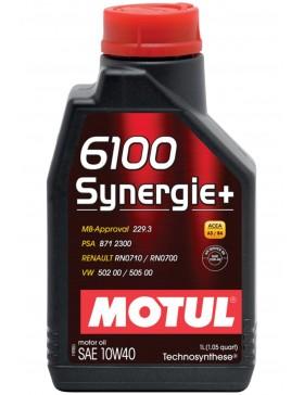 Ulei motor Motul 6100 Synergie+ 10W40 1L