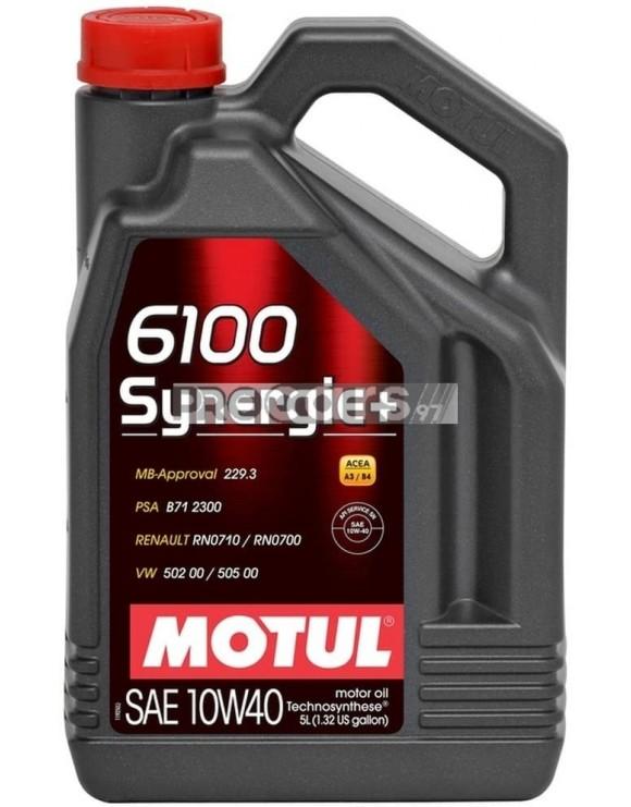 Ulei motor Motul 6100 Synergie+, 10W40, 5L
