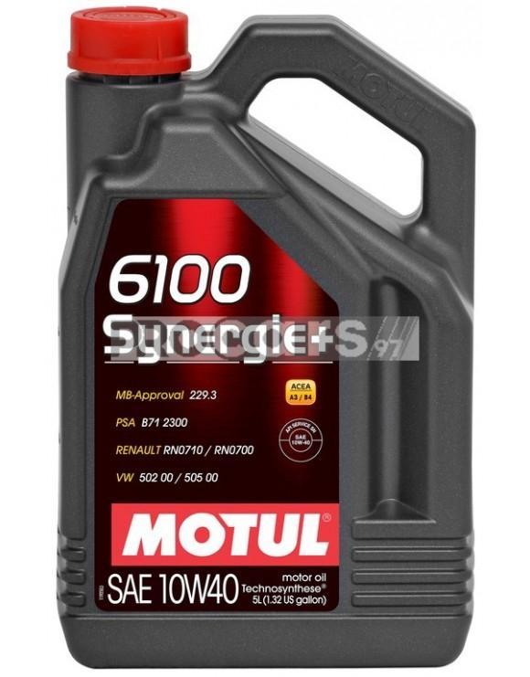 Ulei motor Motul 6100 Synergie+, 10W40, 4L