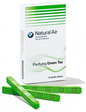 "Set rezerve odorizant original BMW ""Purifying Green Tea"" (3x)"