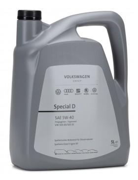 Noul Ulei motor VW  Special D (505.01) 5W40 5L (din 2020!)