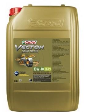 Ulei motor Castrol Vecton Long Drain E6/E9 10W40 20L