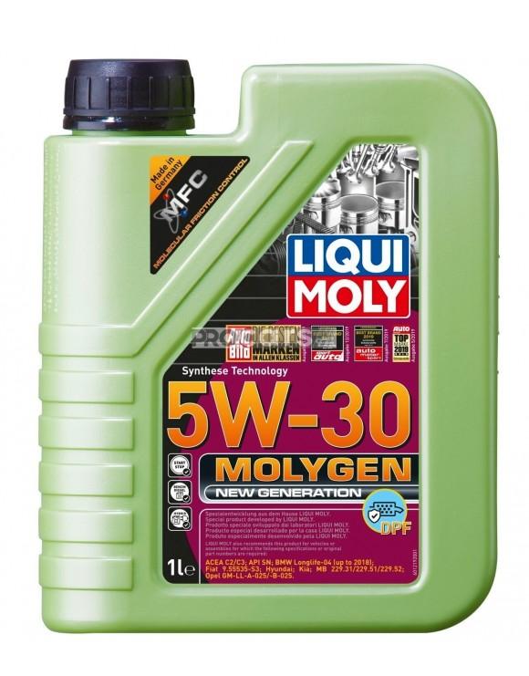 Ulei Motor Liqui Moly Molygen New Generation 5W30 DPF 1L