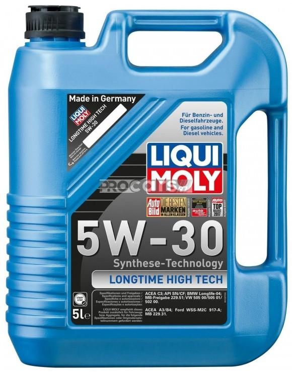 Ulei Motor Liqui Moly Longtime High Tech 5W30 5L