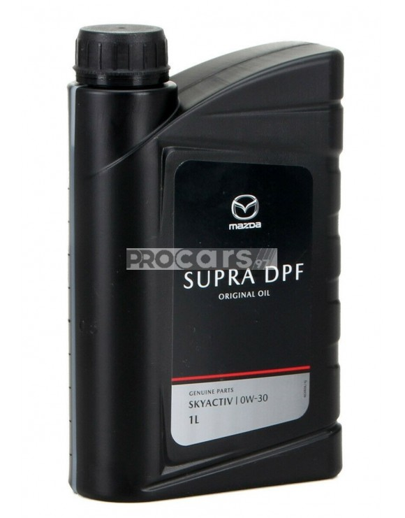 Noul Ulei motor Mazda Original Oil Supra DPF 0W30 1L (din 2020!)