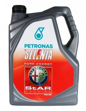 Ulei motor Selenia Star Pure Energy Alfa Romeo, 5W40, bidon tabla, 2L