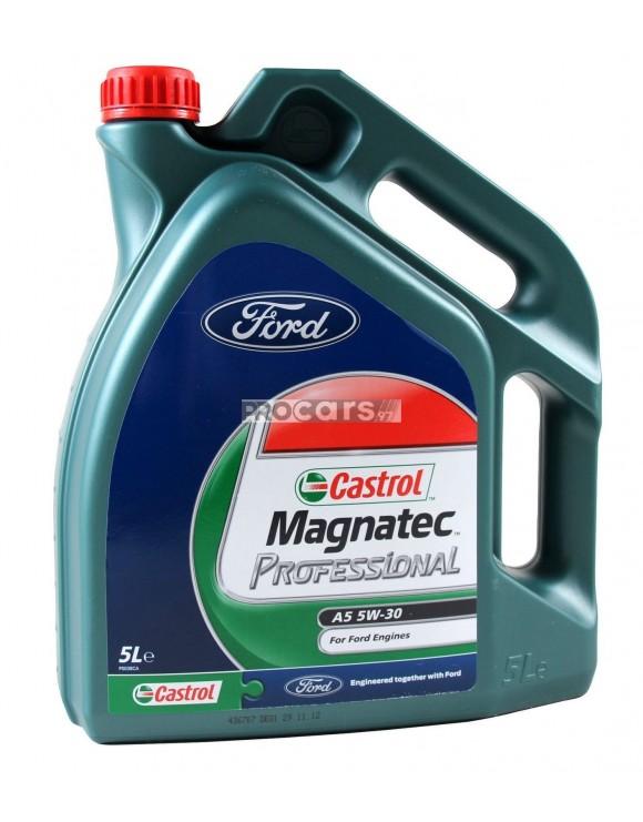 Ulei motor Castrol Magnatec Professional A5 5W30 (Ford), 5L