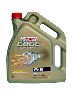 Ulei motor Castrol EDGE Turbo Diesel Titanium FST 5W40 5L