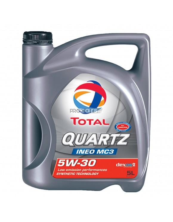 Ulei motor Total Quartz Ineo MC3, 5W30, 5L
