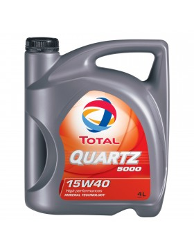 Ulei motor Total Quartz 5000 15W40 4L
