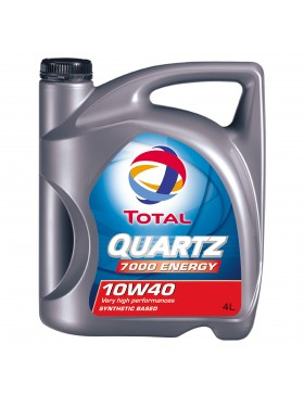 Ulei motor Total Quartz Energy 7000, 10W40, 4L