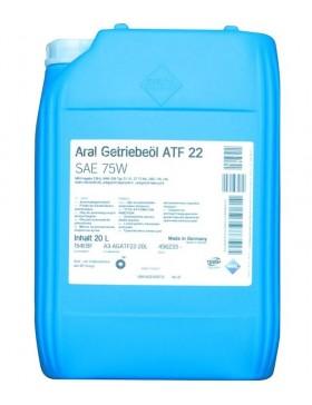 Ulei pentru cutie viteze automata Aral ATF 22, 20L