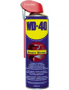 Spray tehnic lubrifiant WD-40 Smart Straw, 450 ml