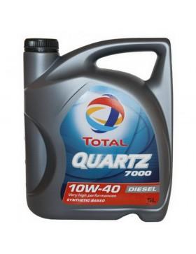 Ulei motor Total 10W40 Quartz Energy Diesel 7000 5L