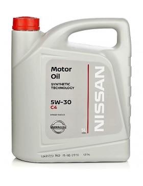 Ulei Motor NISSAN Original Oil C4 5W30 DPF 5L
