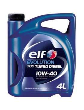 Ulei motor Elf Evolution 700 Turbo Diesel, 10W40, 4L