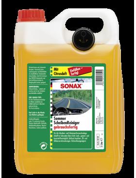 Lichid parbriz vara anti insecte SONAX diluat (aroma de lamaie) 5L