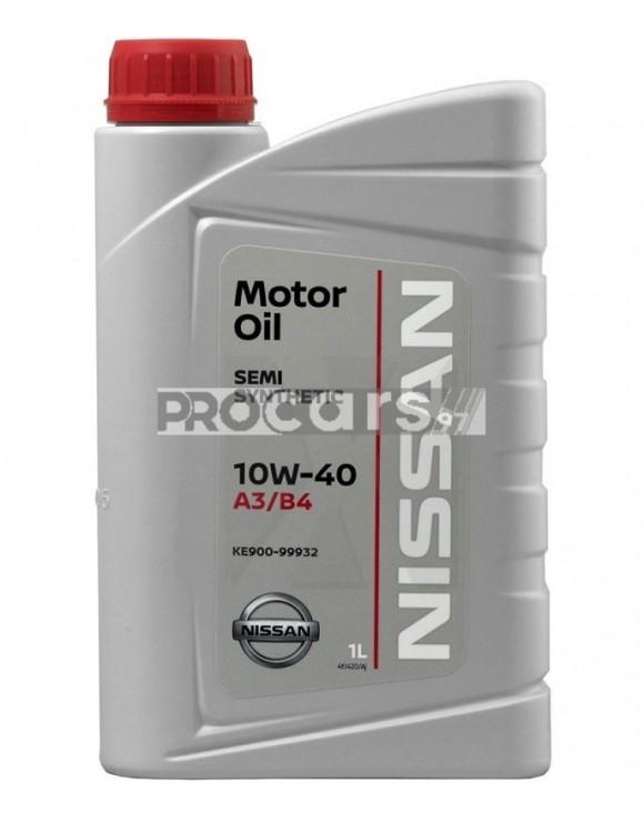 Ulei motor NISSAN Original Oil A3/B4 10W40 1L