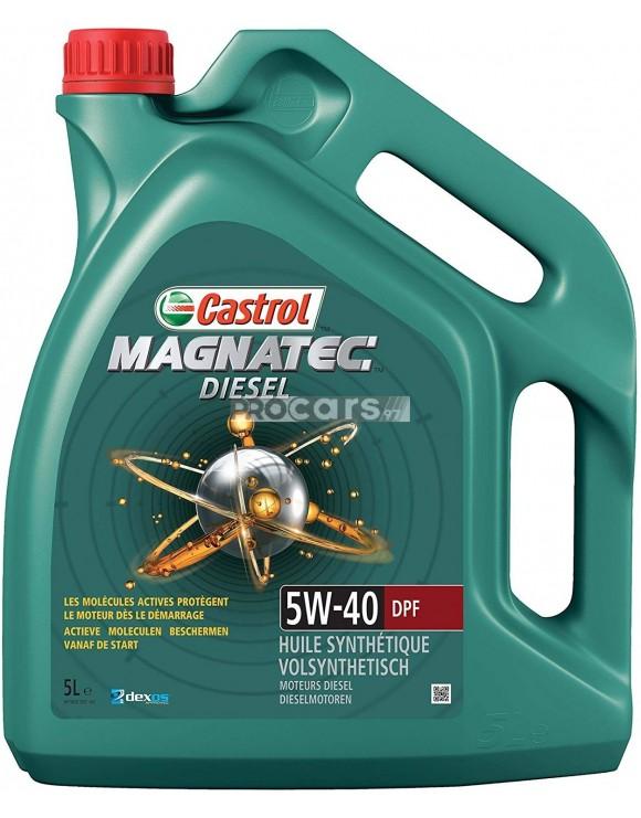 Ulei motor Castrol Magnatec DPF Diesel 5W40 5L