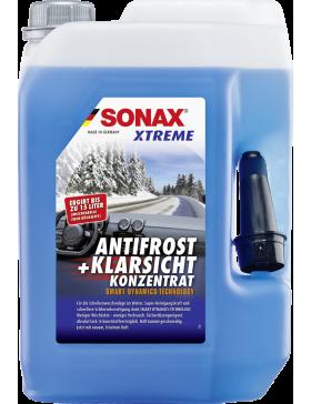 Lichid parbriz iarna concentrat SONAX XTREME AntiFreeze & Clear View 1:3 5L